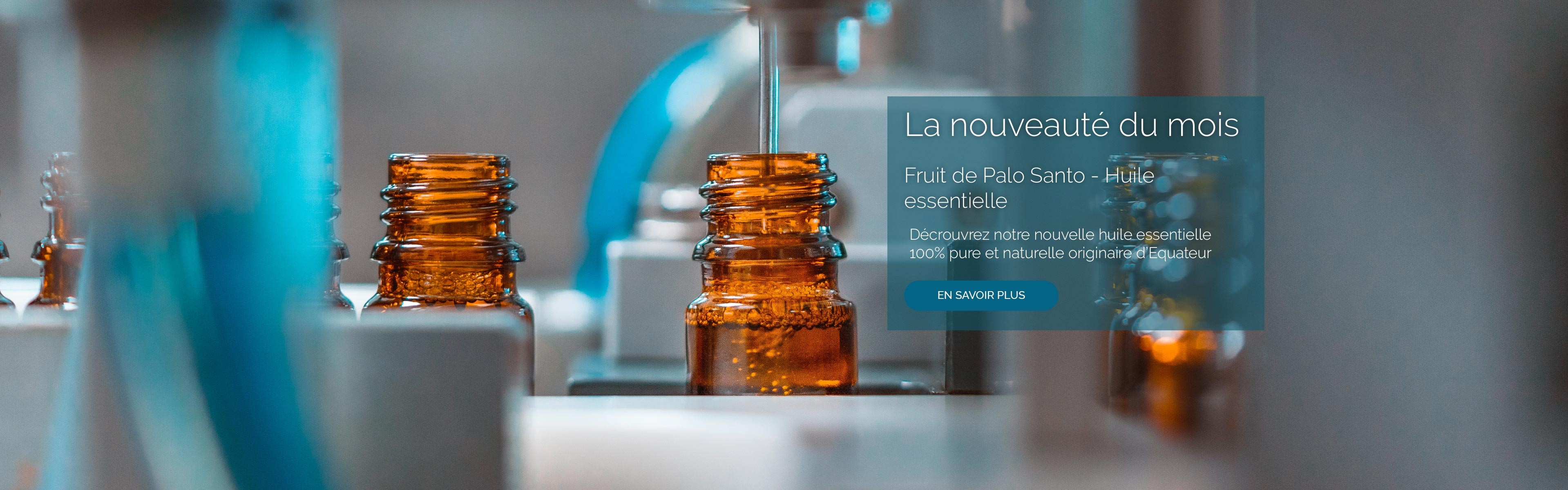 Huile Essentielle de Fruit de Palo Santo. Découvrez notre nouvelle 100% pure et naturelle originaire d'Equateur.