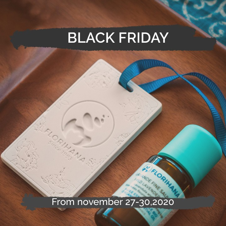 Ceramic diffuser offered from 50€ of purchase with the promo code:  BLACKHana2